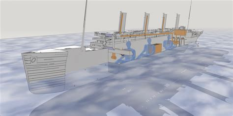 titanic boat design meticulous 3d printed rc model of the titanic is almost