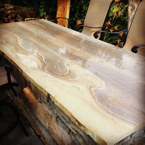 stone bar tops backyard bar top with natural stone rustic patio