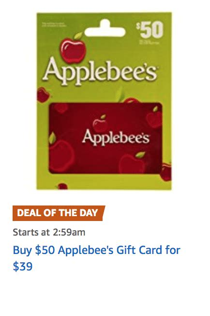 Applebee S Gift Card Check - do applebees gift cards expire lamoureph blog