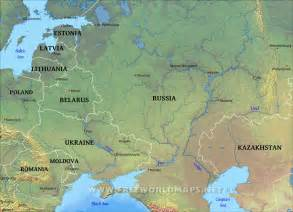 map of eastern europe eastern europe physical map