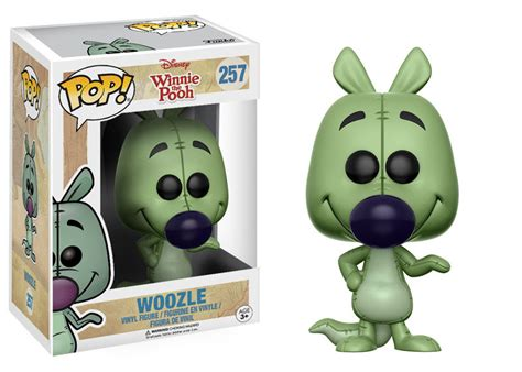 funko pop disney winnie the pooh woozle figure