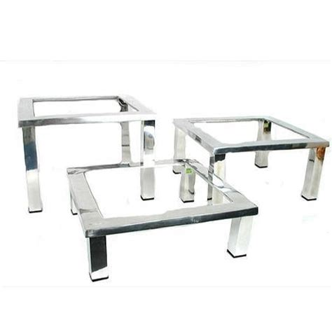 Party Rental Products Mod Aluminum Square Trays And Stands Aluminum Buffet Trays