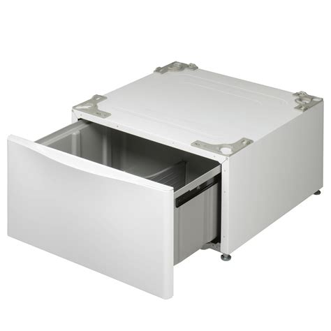 Lg Washer Drawer by Lg Wdp4w 13 6 Quot Laundry Pedestal With Storage Drawer