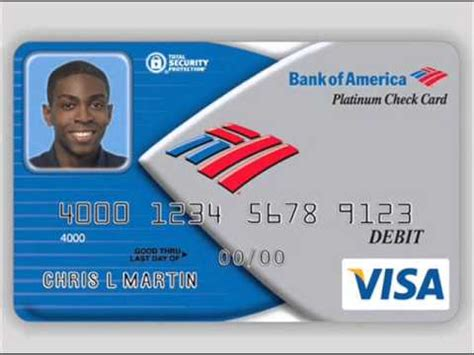 Bofa Visa Gift Card - visa debit card of bank of america youtube