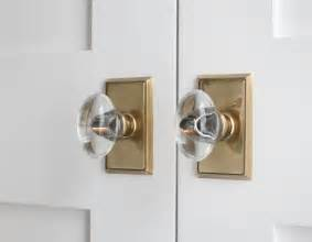Pantry Door Knobs white pantry doors with brass and glass door knobs