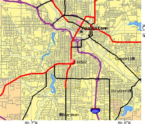 zip code map youngstown ohio 44507 zip code youngstown ohio profile homes