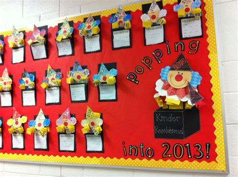 new year class decorations new year s kindergarten bulletin board in the box