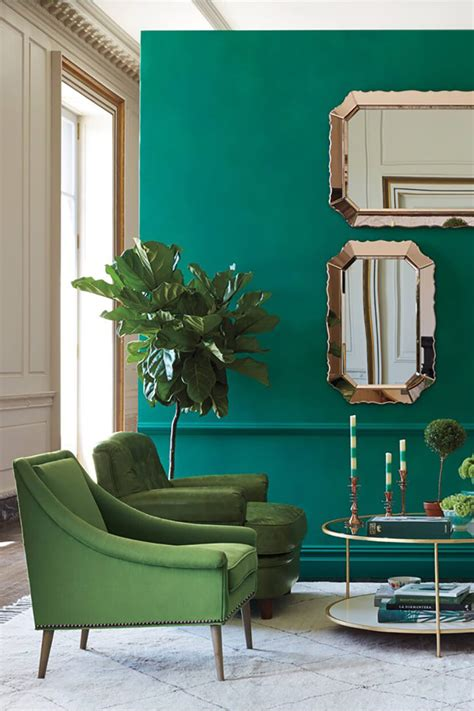 Maravillosa  Pared Imitacion Ladrillo #3: Color-Trend-Emerald-and-Teal-Room-Decor-4.jpg