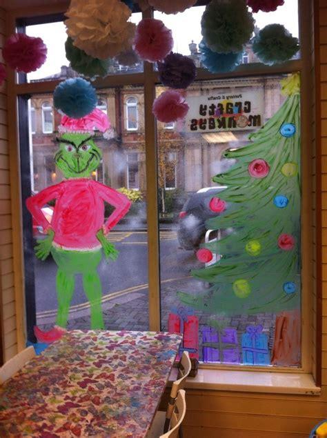 the grinch christmas window display crafty monkeys penrith