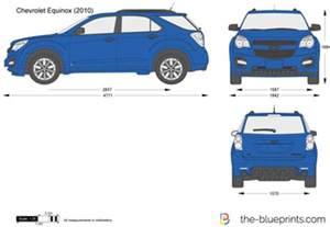 Chevrolet Equinox Size The Blueprints Vector Drawing Chevrolet Equinox