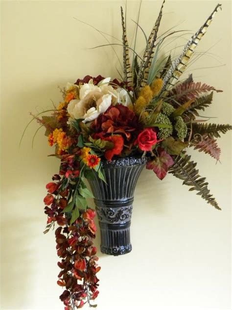 items similar  flower arrangement wall decor fall