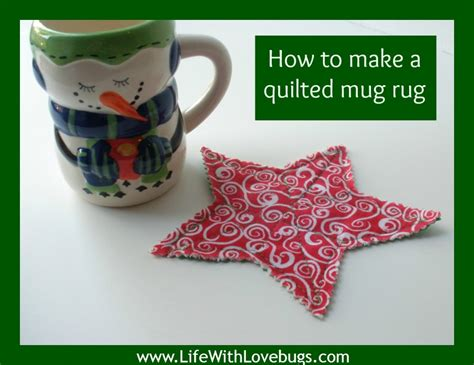 Mug Rugs To Make by How To Make A Quilted Mug Rug With Lovebugs