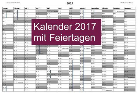 Ewiger Kalender 2017 Kalender 2017 Mit Feiertagen Kalender 2017
