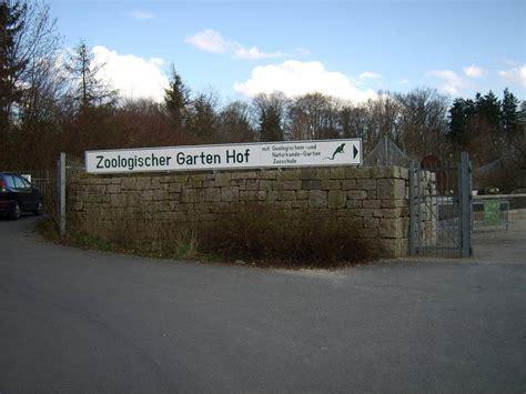Zoologischer Garten Hof öffnungszeiten by Ausflugsziel Zoologischer Garten Hof Hof Frankenradar