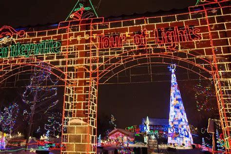 holiday lights tour mn bentleyville duluth minnesota quot tour of lights