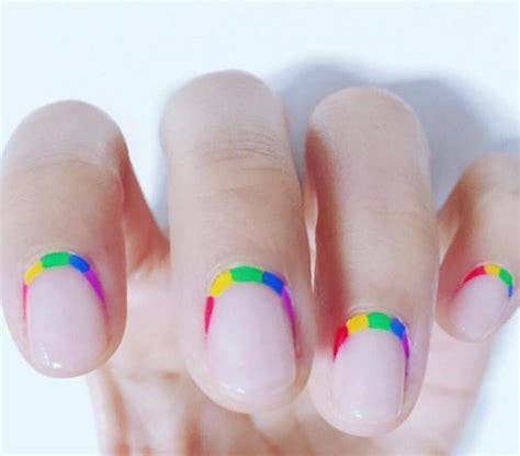 tutorial nail art rainbow rainbow nail art ideas for the summer techniques and
