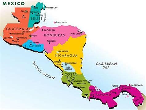 América Central   Localização, características e economia