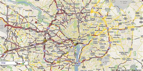 dc traffic map access mobility why driving can t be the only option www slocat net
