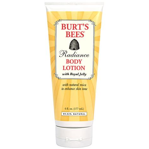burt s burt s bees radiance body lotion 177ml free shipping