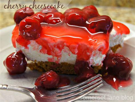 cheese cake cherry cherry cheesecake recipe dishmaps