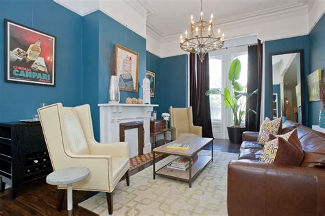 20 blue and brown living room designs decorating ideas