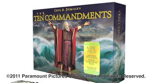 The Ten Commandments Gift Set the ten commandments anniversary collection dvd