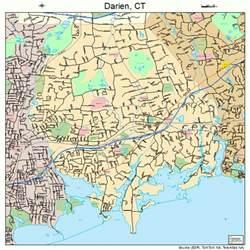 darien map darien connecticut map 0918920
