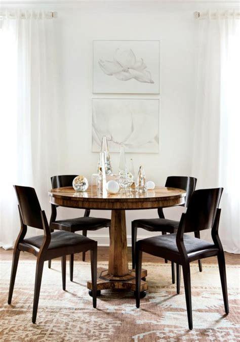 Délicieux Table Salle A Manger Carree 8 Personnes #2: ikea-table-ronde-design-en-bois-jolie-salle-à-manger-contemporaine.jpg