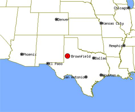brownfield texas map brownfield profile brownfield tx population crime map