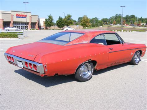 chevy impala 2 door 1968 chevy impala 2 door fastback classic chevrolet
