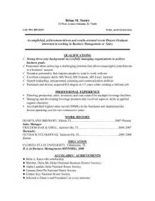 College Grad Cover Letter Exles by Recent College Graduate Resume Sle Sle Of