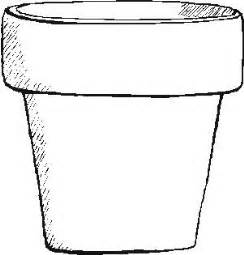 flower pot template free flower pot template free word papercraft