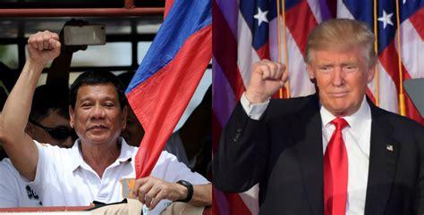 Trump Duterte | duterte congratulates trump wishes enhanced ph us
