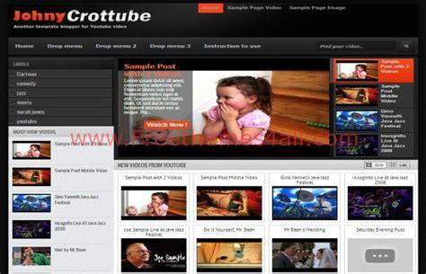 themes blogger black free dark black videos blogger template freethemes4all