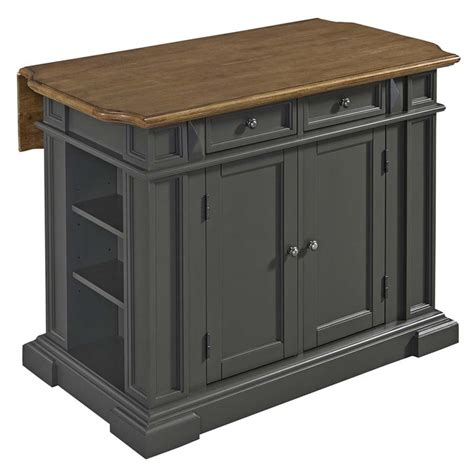 home styles americana kitchen island in gray 5013 94