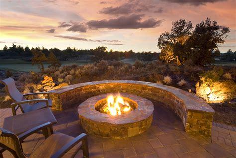 stone fire pits  spark ideas