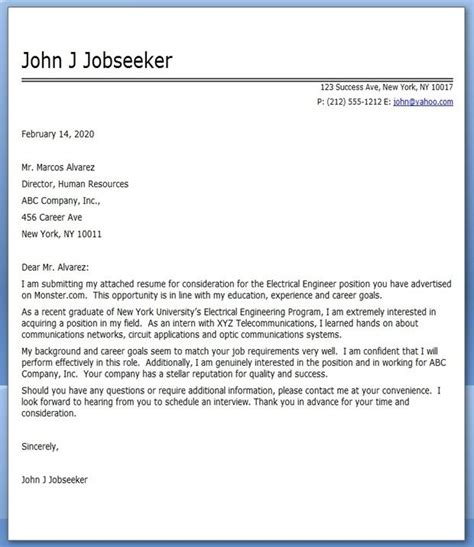 cover letter for electrician uk electrical engineering cover letter exles creative