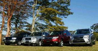 Subaru Forester Generations Generations Of The Subaru Forester Sf Sg Sh And Sj