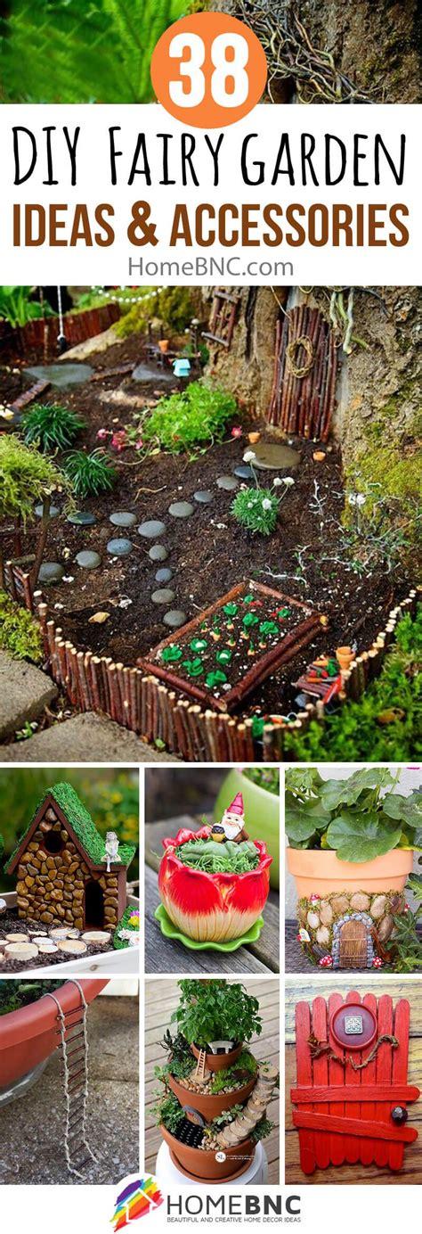 diy fairy garden accessories  homebnc repurposed
