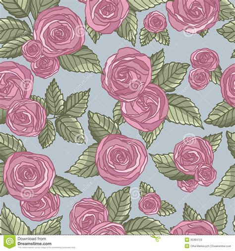 pattern vintage rose rose pattern stock photos image 35384723