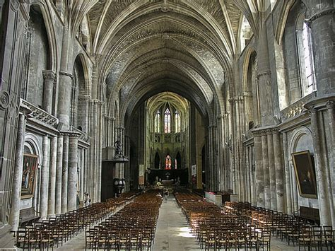 ipernity pictac bordeaux cathedral st andre nave  jacques