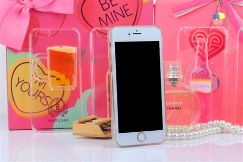 Softcase Remax For Iphone 7 wine cup liquid tpu for iphone 6 6s transparent