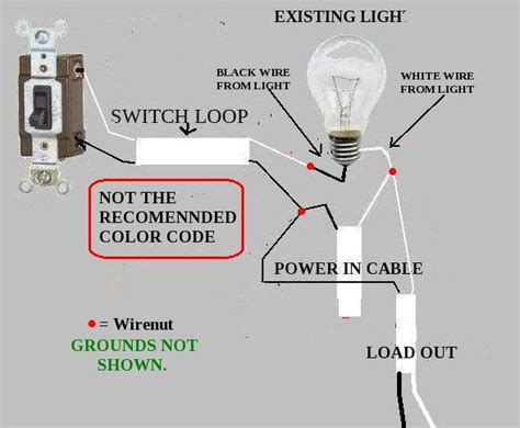 common wire color codes is it normal to your common wire go to your switch