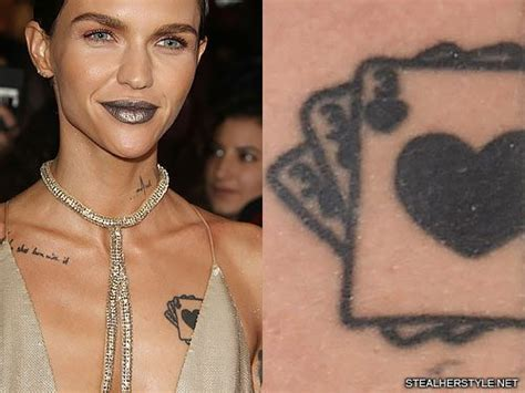 ruby rose tattoos 66 chest tattoos page 4 of 7 style