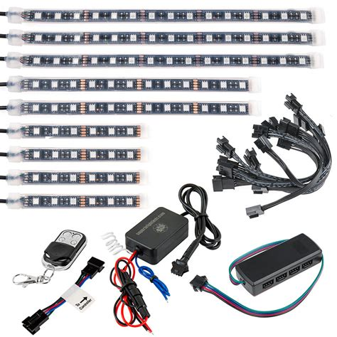 Motorcycle Light Kits by Motorcycle Led Lighting Kit Multi Remote Activated