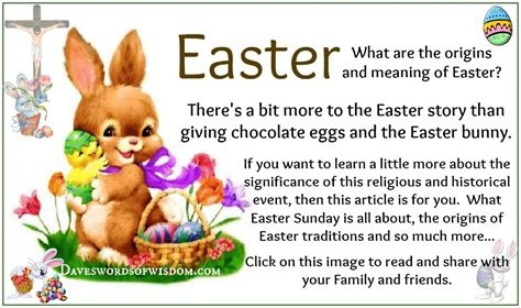 what is significance of easter daveswordsofwisdom the history and meaning of easter
