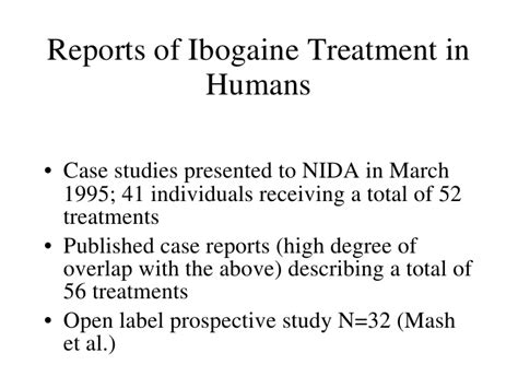 Ibogaine Detox Treatment by Significance Of Underground Ibogaine Treatment Settings