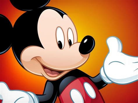 walt disney mickey mouse happy face images wallpaperscom