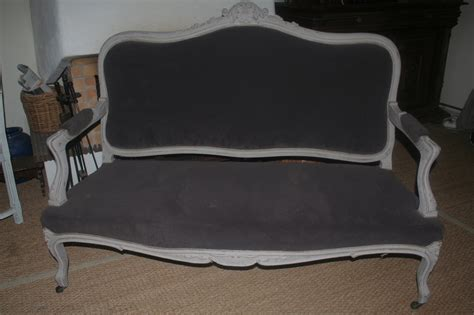 canape ebay canap 233 style louis xv 224 vendre caroline krug tapissier