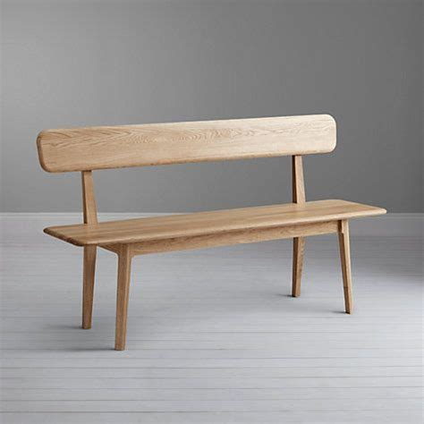 wooden dining bench with back 25 best ideas about bench with back on pinterest wood